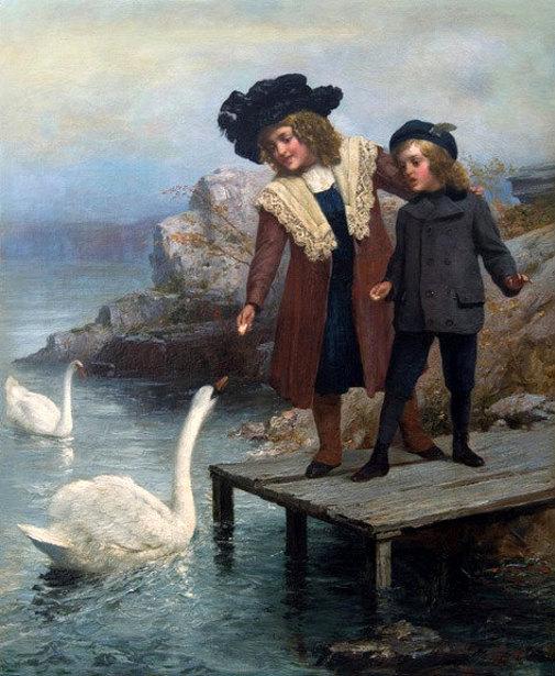 Edward Charles Barnes (1830 – 1890, English)