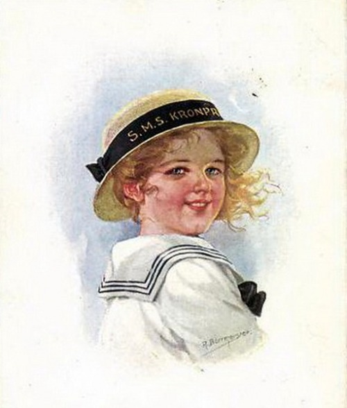 Girl In Sailor Outfit