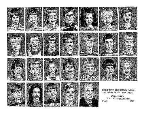 Kindergarten 1985