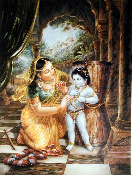 Krsna Bound By His Mother's Love