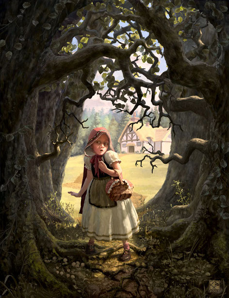Fantasy Book Cover Illustration : Beatrice chris i am a child