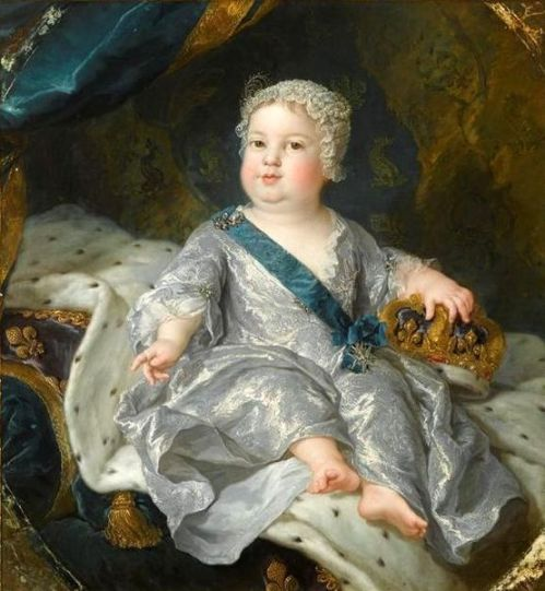 Louis, Dauphin Of France (At The Age Of 1)
