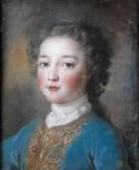 Louis Philippe d'Orléans As Duke Of Chartres (At The Age Of 7)