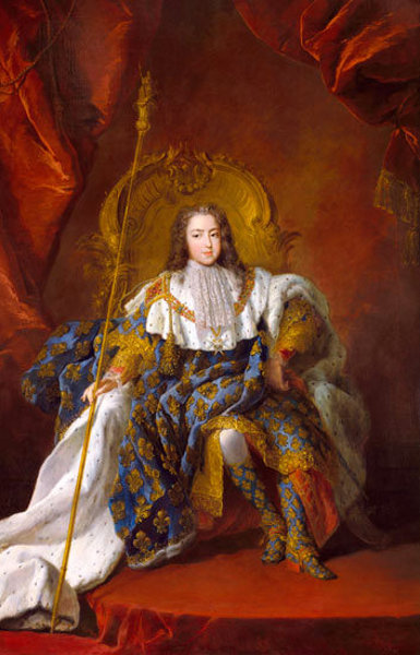 Louis XV of France (At The Age Of 13)
