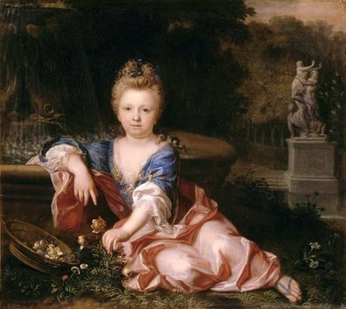 Mariana Victoria Of Spain (At The Age Of 5)