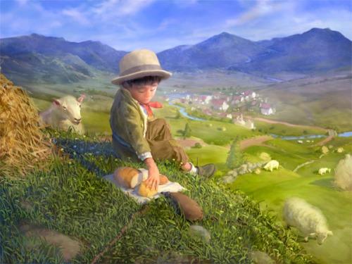 Maurice's Valises - The Shepherd Boy