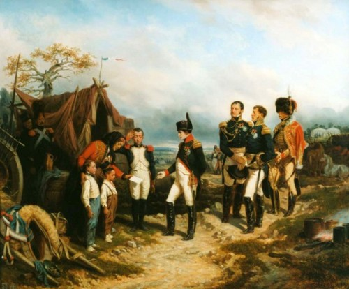 Napoléon et le petit messager