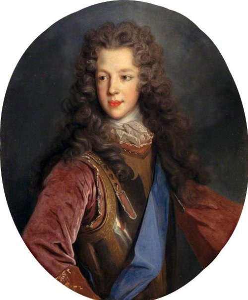 Prince James Francis Edward Stuart, Son Of James VII, At The Age Of 12