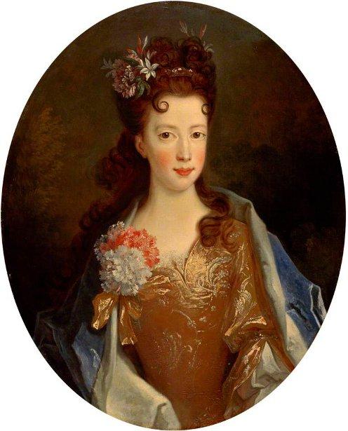 Princess Louisa Maria Teresa Stuart, Daughter Of James VII, At The Age Of 12