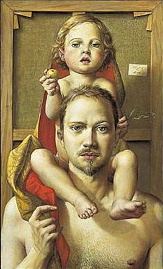 Self-Portrait With Elisabeth