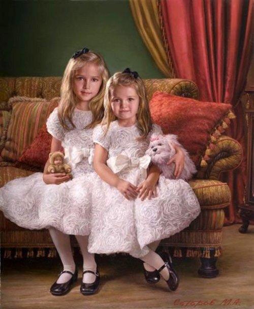 Sisters Natalia And Sofia