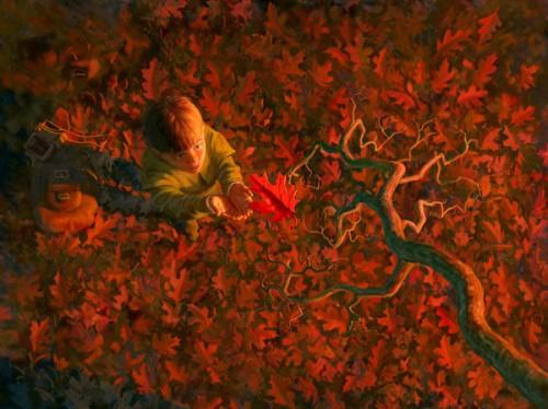 The Black Acorn - The Last Leaf
