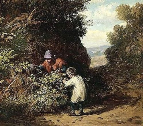 The Blackberry Gatherers