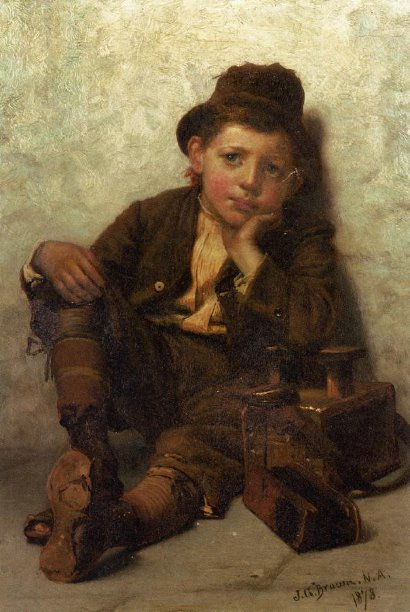 The Little Shoe-Shine Boy