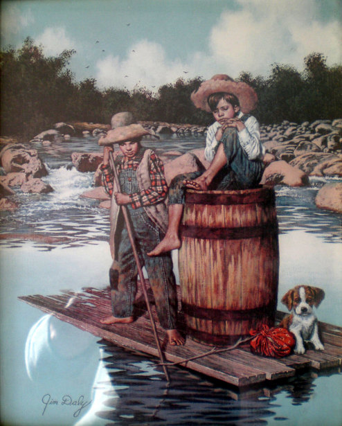 huckleberry finn tom sawyer