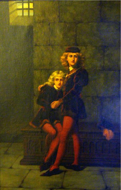 Two Princes In The Tower (Edward V And His Brother Richard)