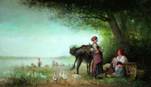 Washerwomen By The River