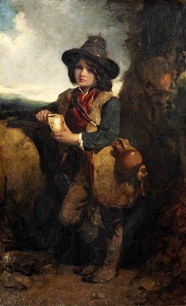 Angelo, A Peasant Boy Of Roman Campagna