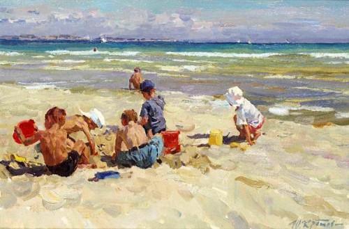 Bank Holiday At The Beach