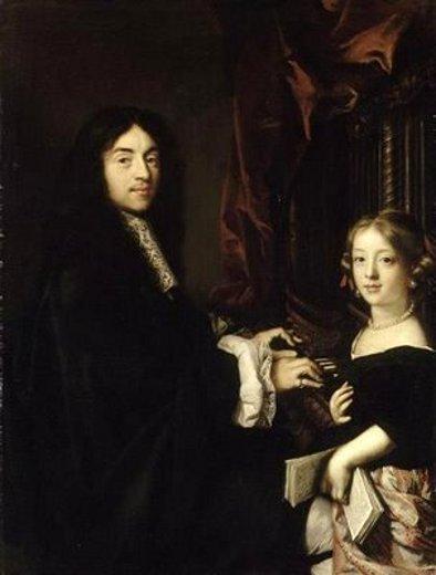 Charles Couperin, organiste, et la fille de Claude Lefebvre