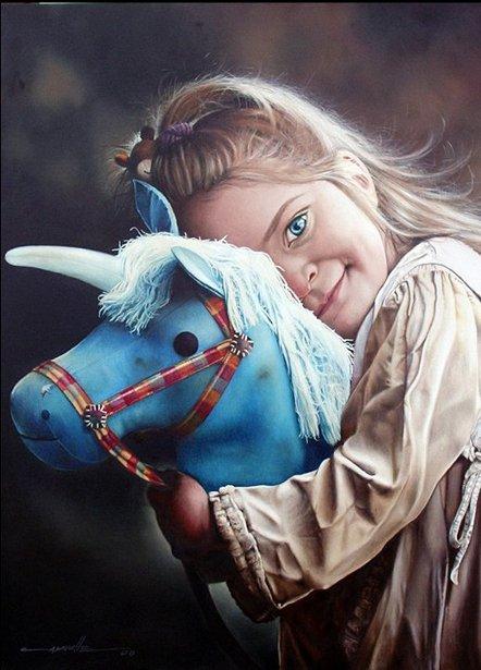 Encontre a mi unicornio azul