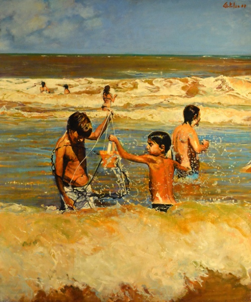 Fishing In The Sea