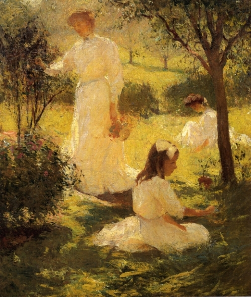 Girls In The Garden