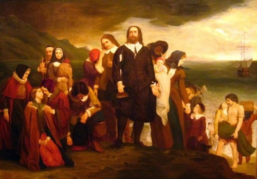 Landing Of The Pilgrim Fathers