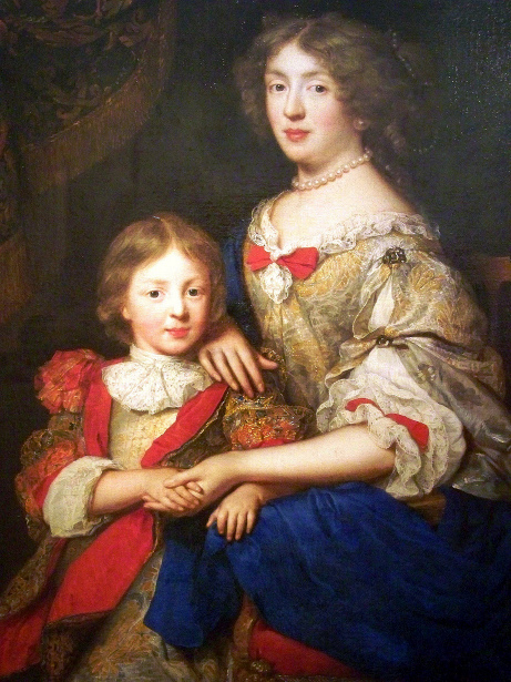 Madame de Sillery And Her Son