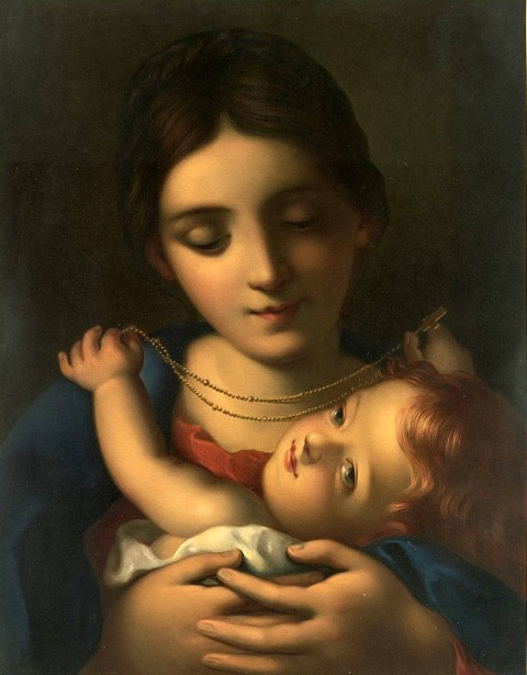 Madonna And Child - Madonna Of The Rosary