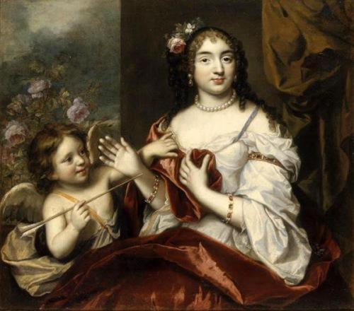 Marie-Louise Rouxel de Médavy, Mademoiselle de Grancey, au moment de son mariage