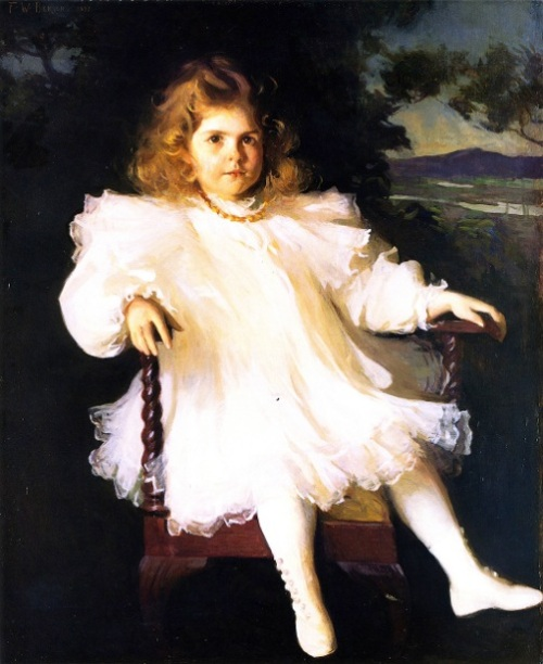 Miss Westinghouse - Young Girl In White Dress