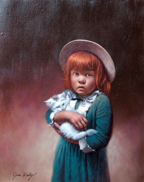 Painting Of A Girl