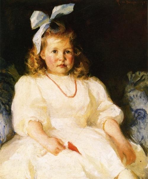 Portrait Of Elizabeth Tyson Russell