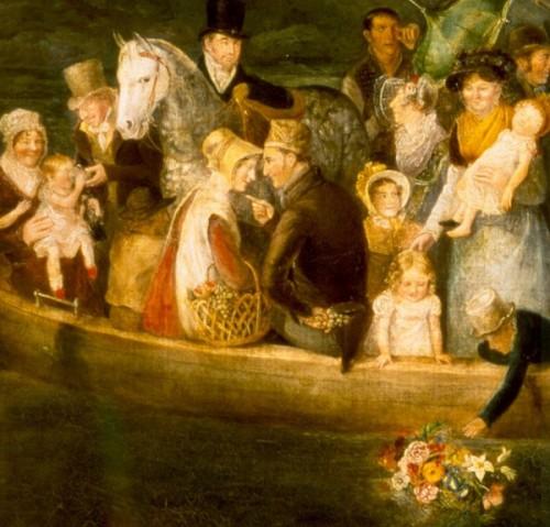 Rownham Ferry (detail 1)