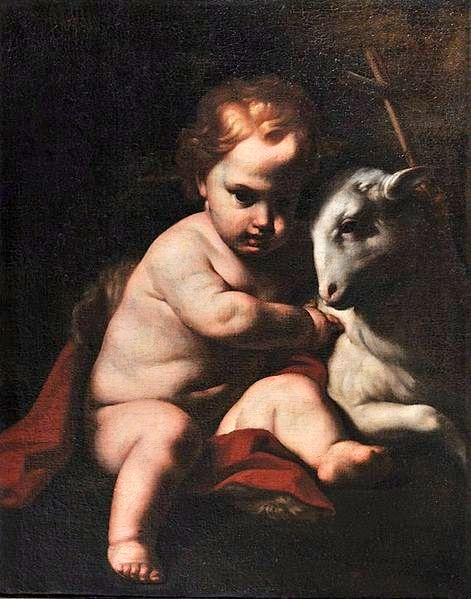 Saint Joseph And The Lamb
