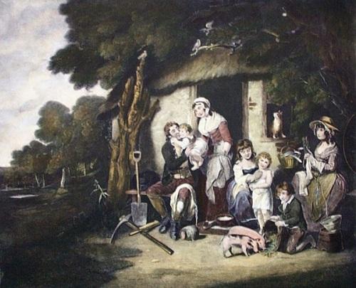 Saturday Evening - The Husbandman's Return From Labour