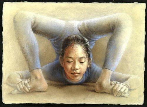 Study of Acrobat Li Ling Kassing
