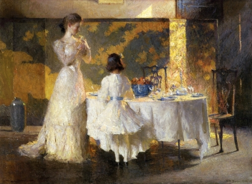 The Artist's Daughters - The Dining Room