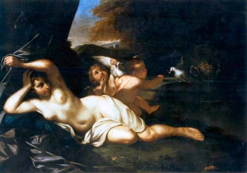 Venus With Putti