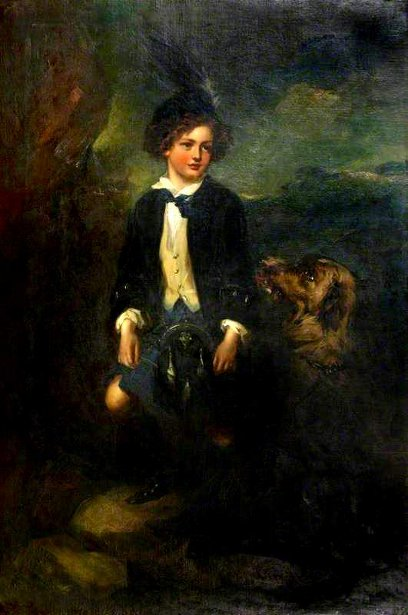 William, 12th Duke Of Hamilton, As A Boy