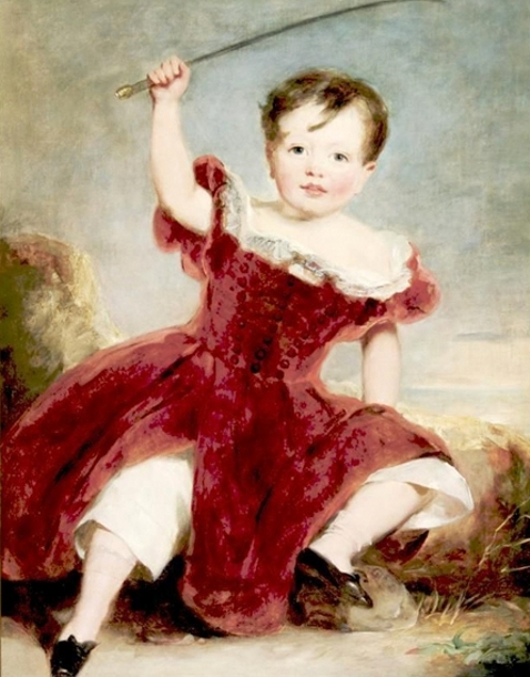 A Child In A Landscape