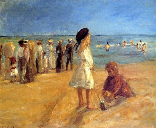 Beach Scene In Nordwijk
