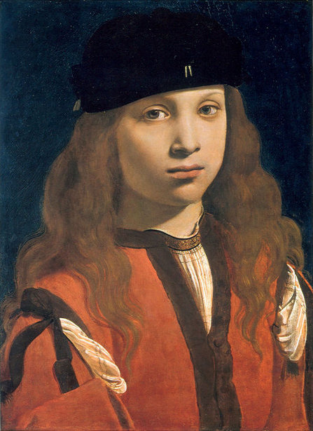 Francesco Sforza, Count Of Pavia, 7 Years Old