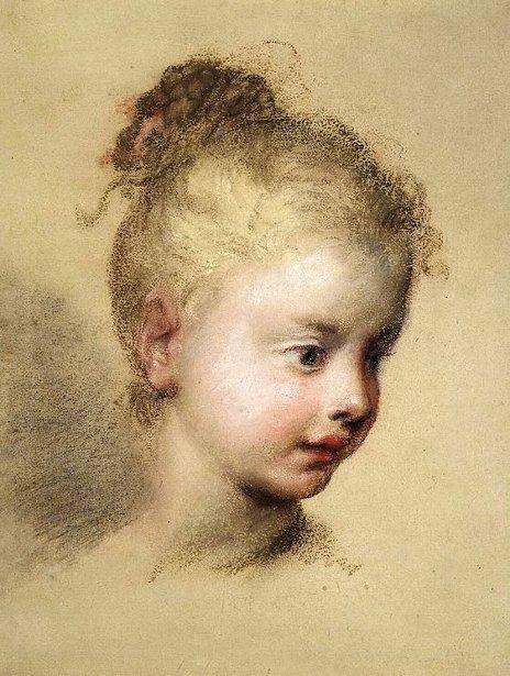 Head Of A Child In Profile