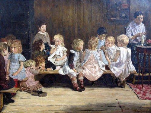 Infant School In Amsterdam