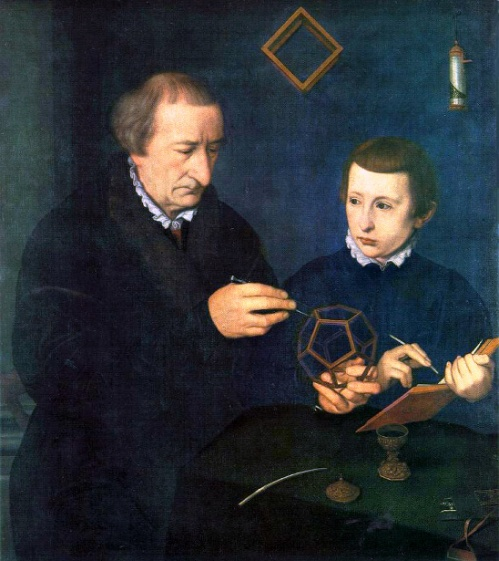 Portrait of Johannes Neudorfer And His Son