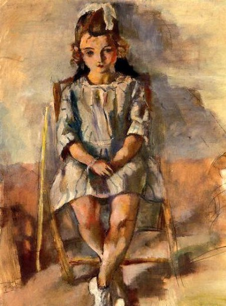 Seated Young Girl 2