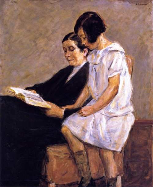 The Artist's Wife And Granddaughter