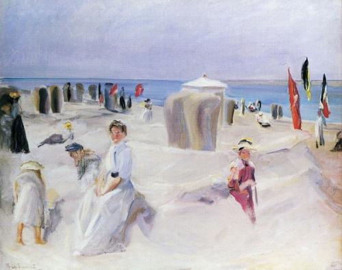The Beach At Nordwijk